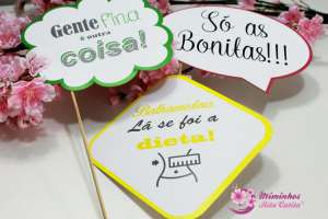 Photo Booth - Ref: Mensagens/frases